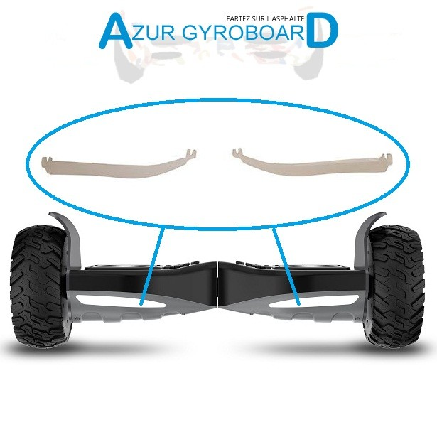 "Caches Led  Frontal Hoverboard 8.5"" Hummer"