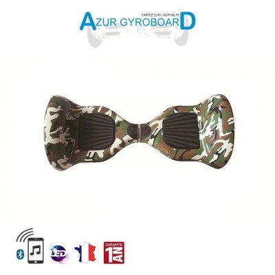 Hoverboard 10 pouces Tout Terrain camouflage-militaire