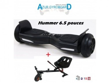 Hoverboard Hummer 6.5 + Hoverkart suspensions - photo 0