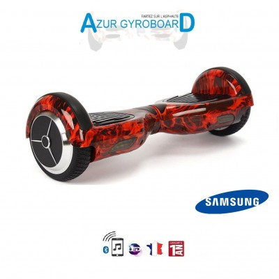 Hoverboard 6.5 pouces HighwayBoard Flammes