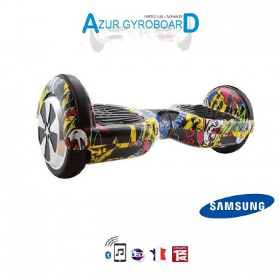 Hoverboard 6.5 pouces HighwayBoard Skull