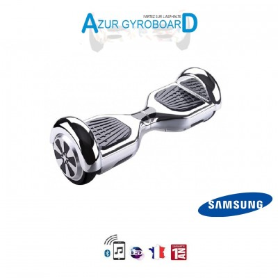 Hoverboard 6.5 pouces HighwayBoard Argent